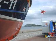 lifeboat in llandudno